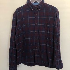 Woolrich | Flannel Plaid Button-Down Shirt - XL